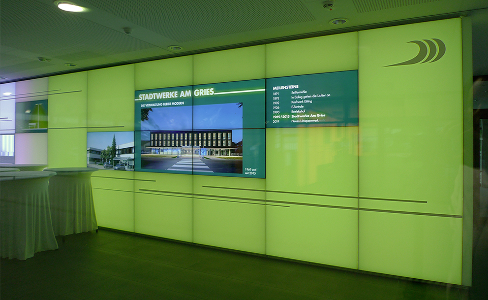 DIE WERFT - Customer Centre and Events Foyer with Exhibition